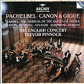 Pachelbel: Canon 7 Gigue;  et al / Pinnock, English Concert