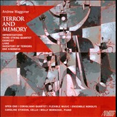 Andrew Waggoner: Terror and Memory; String Quartet no 3; Exorcist; Livre; One Kindness; Improvisations, et al.