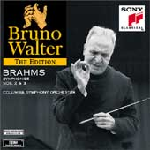 Bruno Walter Edition - Brahms: Symphonies no 2 & 3