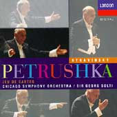 Stravinsky: Petrushka, Jeu de Cartes / Solti, Chicago SO