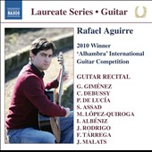 Rafael Aguirre: 2010 Winner 'Alhambra' International Guitar Competition