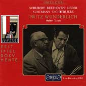 Fritz Wunderlich - Beethoven, Schubert, Schumann / Giesen