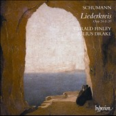 Schumann: Liederkreis, Opp. 24 & 39 / Gerald finley, baritone; Julius Drake, piano