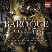 The Baroque Collection - Concertos, Sonatas, Chamber Music, Sacred Music of Albinoni, Bach, Handel, Palestrina, Purcell, Telemann, Vivaldi [10 CDs]