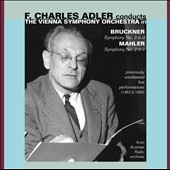 Bruckner: Symphony No. 3 / F. Charles Adler, Vienna SO