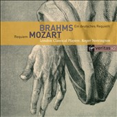 Brahms: A German Requiem; Mozart: Requiem / Norrington