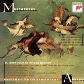 Mussorgsky: Night on Bare Mountain, etc / Abbado, Berlin PO
