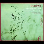 Dvorak: Cello Concerto; Serenade for Strings / Alexander Rudin, cello
