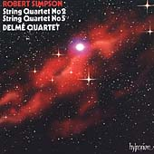 Simpson: String Quartets no 2 & 5 / Delmé Quartet