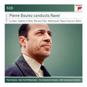 Pierre Boulez conducts Ravel [Sony Classical]