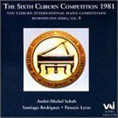 Van Cliburn Competition Retrospectives Vol 8 - 1981