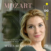 W.A. Mozart: Arias from Idomeneo, Magic Flute, Cosi fan tutte, Don Giovanni, Marriage of Figaro / Maria Bengtsson, soprano; Lausanne CO, de Billy