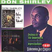 Don Shirley: Orpheus of the Underworld/Improvisations