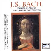 Bach: Cantatas for First and Second Sundays after Trinity