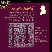 Haydn: Symphonies no 9-12 / Roy Goodman, Hanover Band
