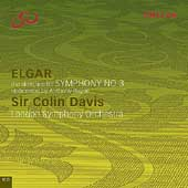Elgar: Symphony no 3 (Completed from Sketches) / Davis, LSO