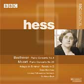 Beethoven, Mozart: Piano Concerto / Hess, Boult, London PO