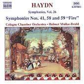 Haydn: Symphonies Vol 26 / M&uuml;ller-Br&uuml;hl, Cologne CO
