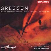 Gregson: Blazon, Violin Concerto, etc / Brabbins, et al
