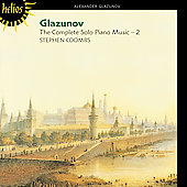 Glazunov: Complete Solo Piano Music Vol 2 / Stephen Coombs