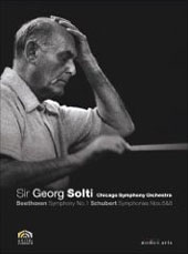 Beethoven, Schubert: Symphonies / Solti/Chicago SO [DVD]