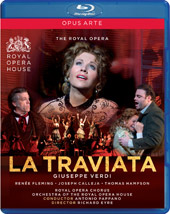 Verdi: La Traviata / Pappano/Royal Opera, Fleming, Calleja, Hampson [Blu-Ray]