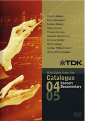 Highlights fom the TDK Catalogue 2004/05 / Concert & Documentary - Hampson, Bonney, Vargas, Gergiev et al. [DVD]