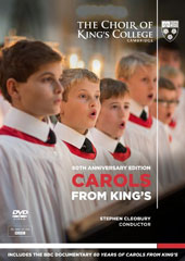 Carols from King's, 60th Anniversary Edition - includes a BBC documentary, behind the scenes footage and performances of traditional carols [DVD]