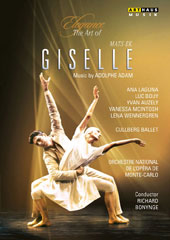 Elegance, The Art of Mats Ek - Giselle, music by Adolphe Adam; Choreography and TV adaptation by Mats Ek / Cullberg Ballet [DVD]