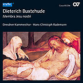 Buxtehude: Membra Jesu Nostri / Rademann, et al