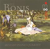 SCENE Bonis: Complete Piano Quartets / Mozart Quartet