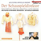 Mozart: Der Schauspieldirector K 486 / Marriner, Nadelmann, Sala, Odinius, Sabrowski, Schenk, et al