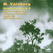 Weinberg: Symphony no 4 & 6 / Kondrashin, Moscow Philharmonic SO