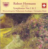 Bernard Hermann: Symphony 1 & 2 / Wurttemberg-Reutlingen PO, et al