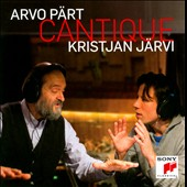 Arvo P&auml;rt: Cantique / Jarvi