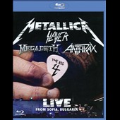 Megadeth/Metallica/Anthrax/Slayer: Big Four: Live from Sofia, Bulgaria [Blu-Ray]