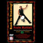 Paulo Mattioli: Hands on Drumming Session, Vol. 1 [DVD]
