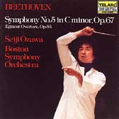 Classics - Beethoven: Symphony no 5, etc / Ozawa, Boston SO