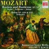 Mozart: Bastien und Bastienne, Arien / Stolte, Schreier, etc