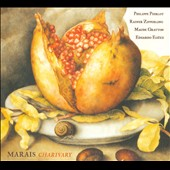 Marin Marais: Charivary - Suites for viol in D, C & A / Philippe Pierlot, Rainer Zipperling: bass viol; Maude Gratton: harpsichord; Eduardo Egüez: theorbo, guitar