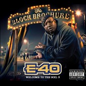 E-40 (Rap): The Block Brochure: Welcome to the Soil, Pt. 3 [PA] [Digipak]