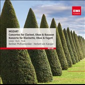 Mozart: Concertos for Clarinet, Oboe & Bassoon / Leister, Koch, Pisek