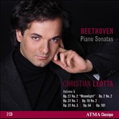 Beethoven: Piano Sonatas, Vol. 5 / Christian Leotta, piano