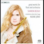 Great Works for Flute & Orchestra by Nielsen, Griffes, Reinecke, Chaminade, Poulenc et al. / Sharon Bezaly, flute