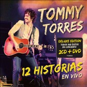 Tommy Torres: 12 Historias en Vivo [Deluxe Edition] [2CD/1DVD] [Digipak] *
