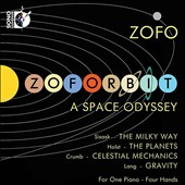 Zoforbit: A Space Odyssey - music for piano 4-hands by Urmas Sisask, Holst, Crumb and David Lang / ZOFO