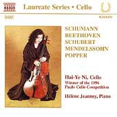 Laureate Series, Cello - Hai-Ye Ni