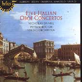 Five Italian Oboe Concertos / Daniel, Peterborough Orchestra
