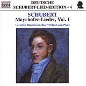 Deutsche Schubert-Lied-Edition 4 - Mayrhofer Lieder Vol 1