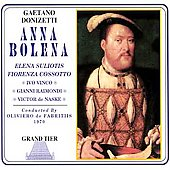 Donizetti: Anna Bolena / Suliotis, Cossotto, et al
